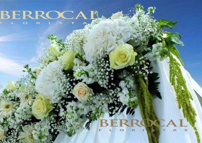 Detalle decoración floral!